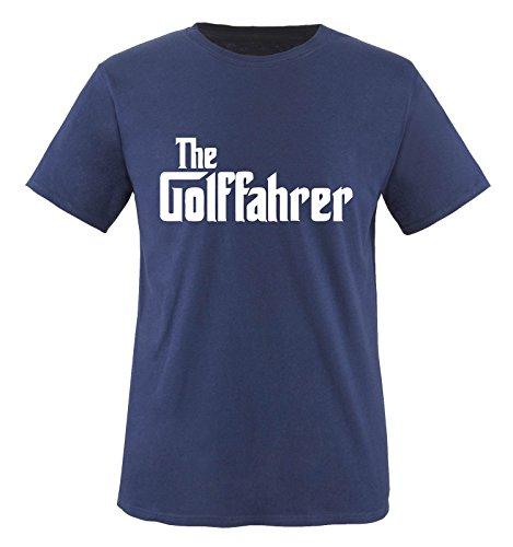 The GOLFFAHRER - Herren - T-Shirt in Navy by DoubleM Gr. L