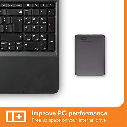 WD Elements Portable, externe Festplatte – 2 TB – USB 3.0 – WDBU6Y0020BBK-WESN - 5