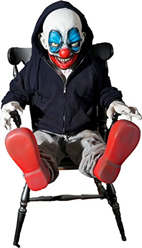 Check Out This Giggles the Clown Latex Animated Prop