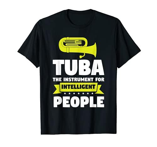 Tuba es para gente inteligente jugador de la tuba Camiseta