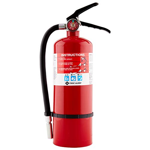 First Alert Fire Extinguisher | Professional Fire Extinguisher, Red, 5 lb, PRO5