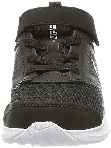 Nike Downshifter 11 TDV, Zapatillas Deportivas Unisex niños, Blanco y Negro, 27 EU