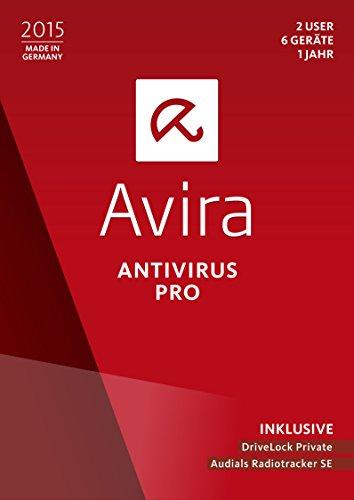 Avira AntiVirus Pro 2015 - 2 User / 6 Geräte / 1 Jahr