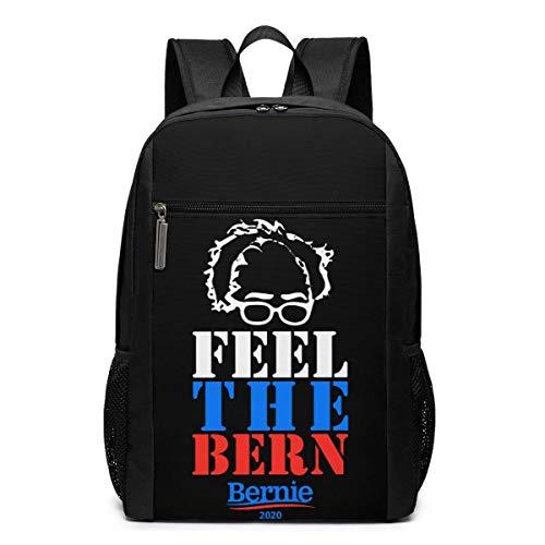 ZYWL Fühlen Sie den Bern Bernie 2020 Laptop Rucksack 17-Zoll-Reiserucksack Bookbag Bussiness Bag