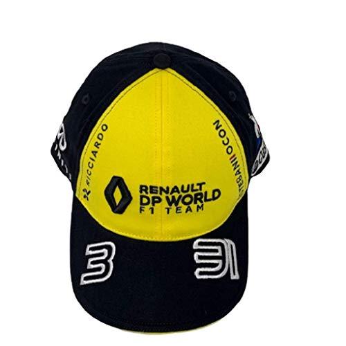 Renault F1 2020 Team Double Pilot Ricciardo/Ocon Sombrero Amarillo