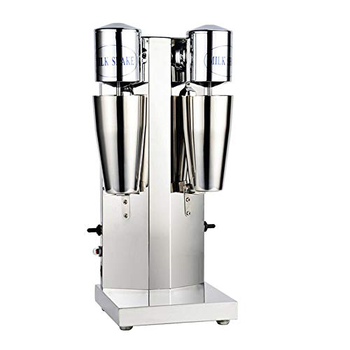Electric Milkshake Maker, 110V 18000RMP Commercial Stainless Steel Milk Shake Machine Speed Adjustable Drink Mixer Used To Make Smoothies and Milk Foam