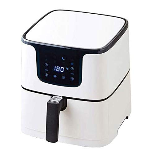 XYUN 1700W lucht Fryer, Smart Oil-Free Electric Fryer, 5.5L grote capaciteit French Fries mini-oven, Timer en Temperature Control, non-stick mandje