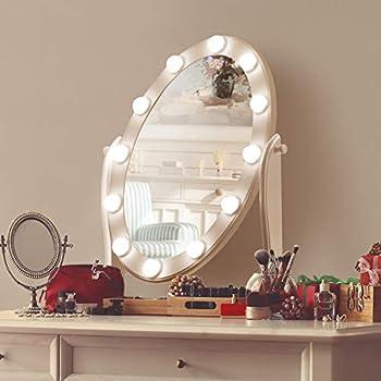 Luxfurni Hollywood Lighted Vanity Makeup Mirror