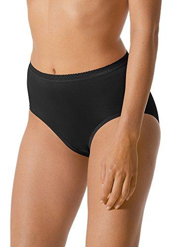Mey Basics Serie Lights Damen Taillenslips/ - Pants Schwarz 44