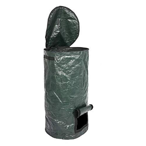 LAANCOO Giardino Bag Compost, compostiera, PE tutela dell'ambiente casalingo di fermentazione Biologico, Trattamento rifiuti di Giardino
