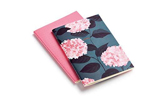 MIQUELRIUS 1389 - Pack 2 Cuadernos Cosidos A5, tapa blanda, 40 Hojas Bella Garden 🔥