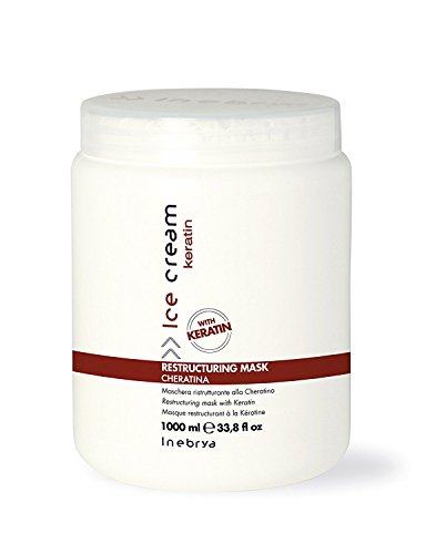 Inebrya Ice Cream Keratin Restructuring Mask - 1000 Ml