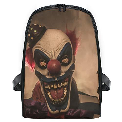 ELIENONO Unheimlich Clown Anzug,Laptop Rucksack für Männer Schulrucksack Multifunktionsrucksack Mini Tagesrucksack für Schule Wandern Reisen Camping