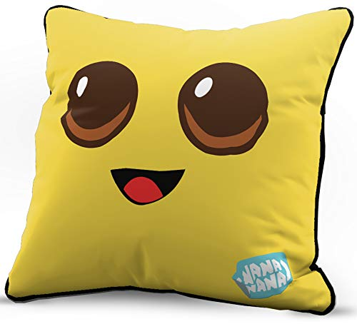 Jay Franco Fortnite Peely Face Decorative Pillow Cover - Throw Pillow Cover Features Agent Peely - Kids Super Soft Bedding (Official Fortnite Product)