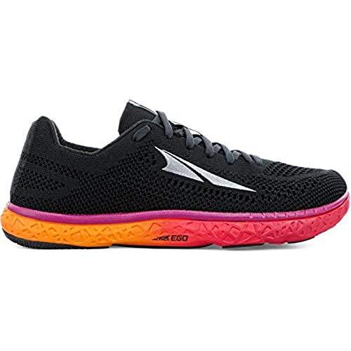 ALTRA Women's Escalante Racer Running Shoe, Black/Orange - 8 M US