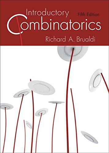 Compare Textbook Prices for Introductory Combinatorics Classic Version Pearson Modern Classics for Advanced Mathematics Series 5 Edition ISBN 9780134689616 by Brualdi, Richard