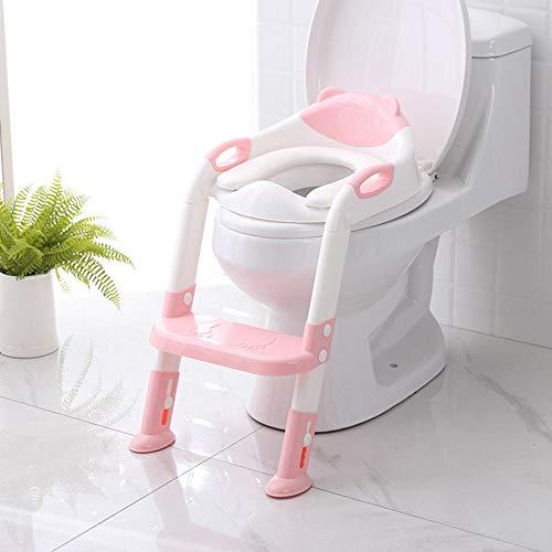 Baby Potty Toilet Trainer Seat Step Stool Ladder Réglable Training Chair toilet seat children s pot Potty Toilet-PK