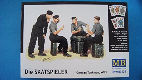 Masterbox 1:35 - Skatspieler - MAS3525