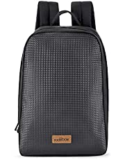 Footloose by Skybags UNISEX Polyester 17 Ltrs Black Casual Backpack (Rocky)