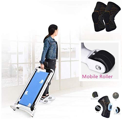 Marche Équipement Tapis De Course Mini Mécanique Portable Pliant Machine pour Home Gym 198 Lbs...