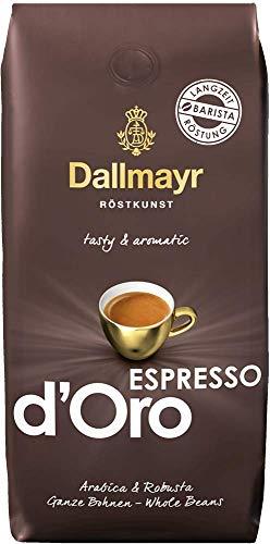 Dallmayr Kaffee Espresso d'Oro 500g Kaffeebohnen 1er Pack (1 x 500 g)