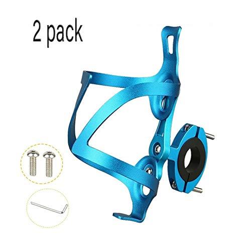 Bouteille De Vélo Montage Facile Léger Et Pratique,avec Outils Inclus Porte-gobelet Léger Ultra Light Alliage D'aluminium pour Vélo De Route/Montagne (Color : Bleu)