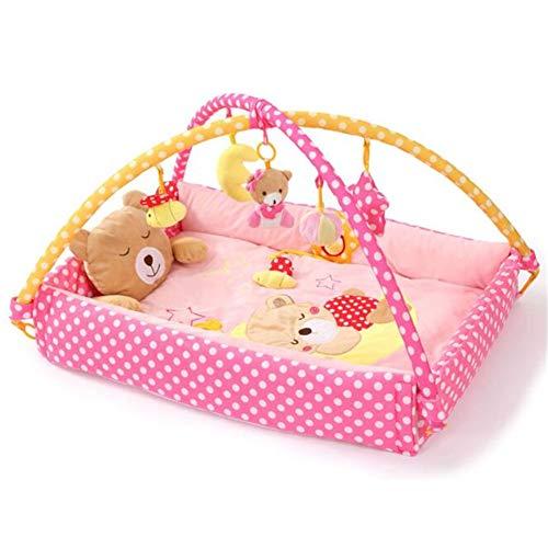 Tapis de Jeu Deluxe pour bébé, Gym,Pink