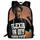SARA NELL Schulrucksack schwarz Kunst African American Girl Come On Afro Girls Bookbag Casual Travel Bag für Teenager Jungen Mädchen