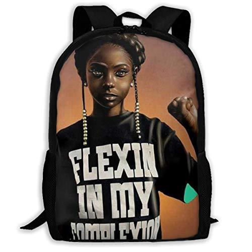 SARA NELL mochila escolar negro arte africano American Girl Come On Afro Girls Bookbag Casual bolsa de viaje para adolescentes niños niñas