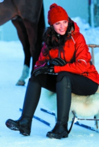 Mountain Horse Ladies Active Winter Rider – black 7-regular by Mountain Horse
