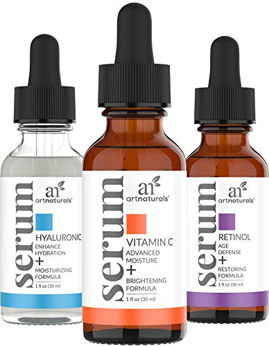 ArtNaturals Antienvejecimiento de Vitamina-C Retinol y...
