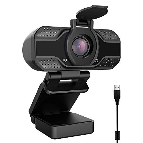CASE U HW2 1080P Webcam with Microphone and Privacy Cover,...
