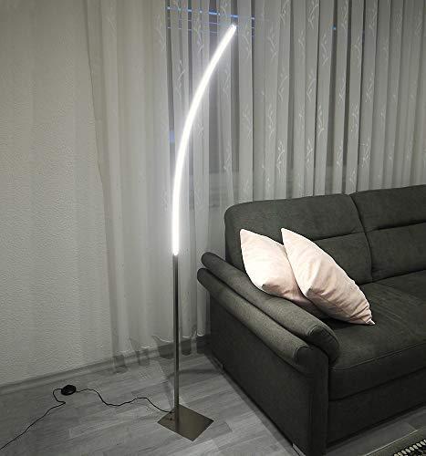 """LED-Steh-Lese-Leuchte\""""ELINA\"""" Wohnraum-Wohnzimmer-Arbeitszimmer-Büro-Leuchte Stand-Sofa-Couch-Gang-Flur-Leuchte"""