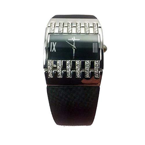 Reloj Paul Versan PV4406-NN señora de Cuarzo, Correa Piel Color Negro