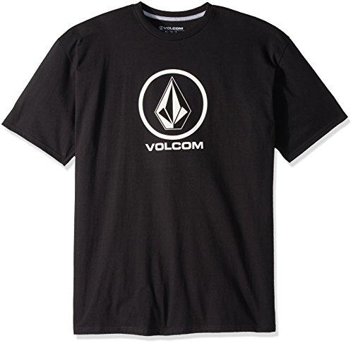 Volcom Men's Crisp Stone Short Sleeve T Shirt Black M