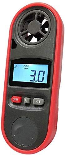 Herramienta Anemómetro de Alta precisión de Mano para con Pantalla LCD para anemómetro de Temperatura de Velocidad del Viento medición