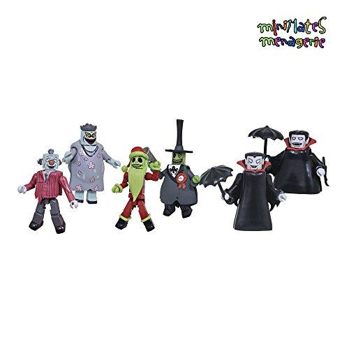 Minimates Nightmare Before Christmas Series 5 Complete Set of Three 2-Packs (6 Figures)
