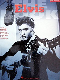 THE ELVIS BOOK - arrangiert für Gitarre [Noten / Sheetmusic] Komponist: PRESLEY ELVIS