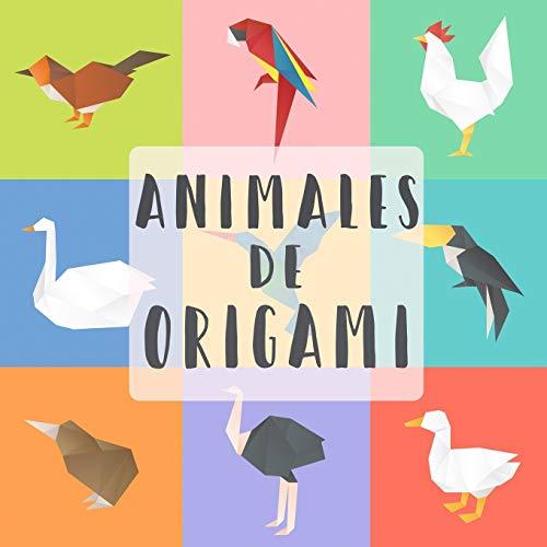 Animales Di Origami: 20 proyectos para hacer más 40 papeles para doblar | Divertido y creativo kit de plegado de papel con líneas de plegado fácil