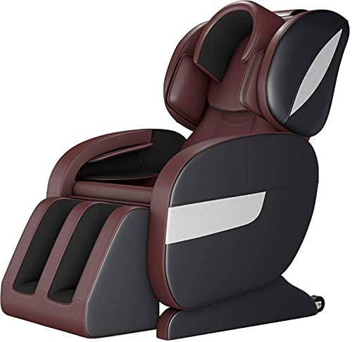 Sillón de masaje de alta gama, masaje de cuerpo co Silla de masaje Sillón de cuerpo completo inteligente Sillón de relajación - Sistema de masaje automático - Cero Gravedad - Calefacción - Sofá eléctr