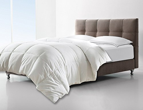 Clara Clark White All Season Down Alternative Comforter/Duvet,...