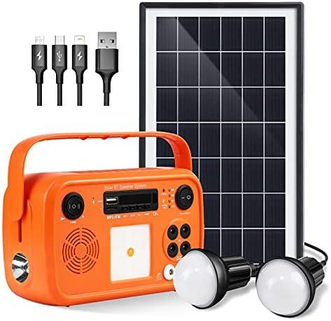 Top 10 Best solar power generator portable with solar panel