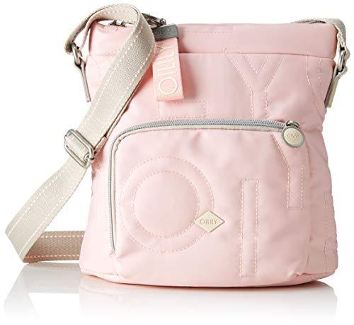 Oilily Damen Spell Shoulderbag Mvz Schultertasche, Pink (Rose), 12.0x25.0x25.0 cm