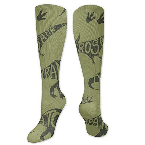 Regalo de Navidad calcetín de camuflaje sin costura patrón de Dino tamaño 50cm