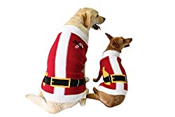 santa ugly christmas sweater for your dog