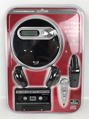 CD PLAYER WITH CAR KIT & REMOTE CONTROL