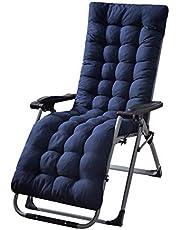 ガーデン家具クッションポータブルサンラウンジャークッションガーデンパティオ厚いパッド入りベッドリクライニングチェアリラクサーチェアシートカバートラベル/ホリデー/インドア/アウトドア(椅子は含まれません)