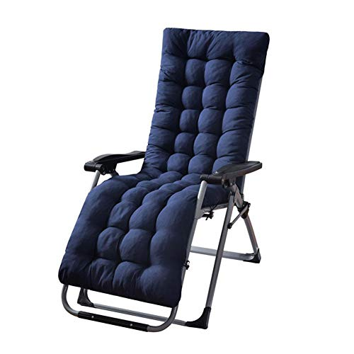 N/C Chair Pad, Sun Lounger Cushion Pads Replacement,Anti-Slip Recliner Seat Cover,Indoor Outdoor Benches Cushions Patio Lounge Long Pad Perfect for Courtyard Recliner,170x53x8cm(No Chair)