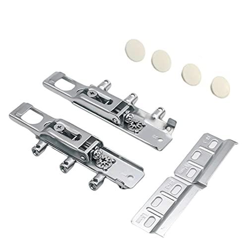 1 par Soporte de armario de pared de metal invisible Soporte de armario para muebles percha invisible para cocina puertas de muebles para el hogar gabinetes de cocina gabinete de pared invisible