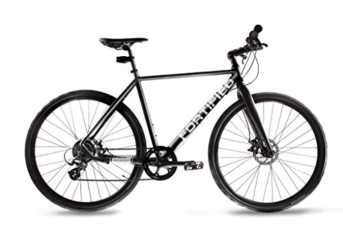Fortified City Commuter Theft-Resistant 8 Speed Bike (Medium - 54cm - 5'6' to 5'10')
